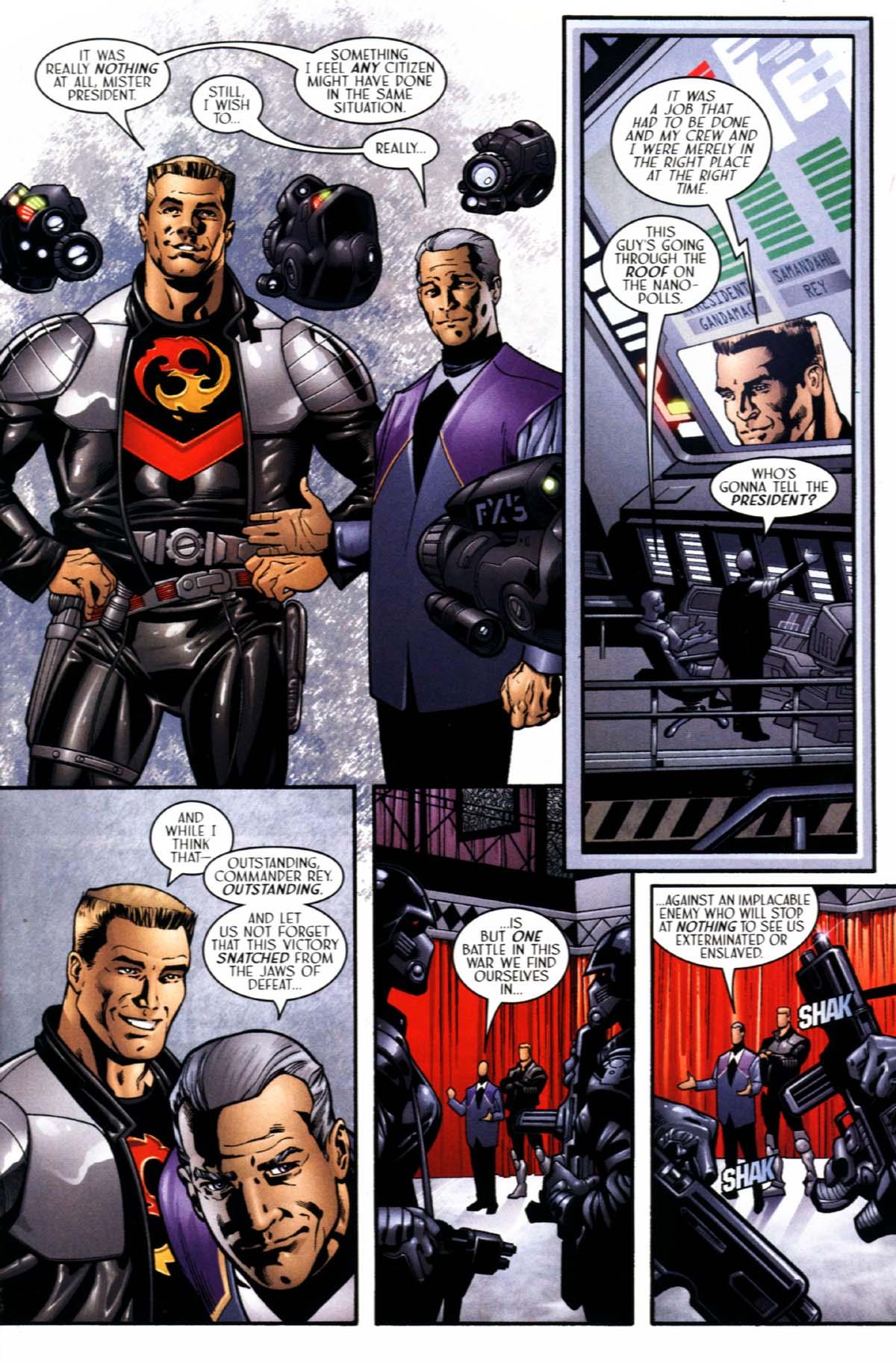 Read online Sigil (2000) comic -  Issue #21 - 19