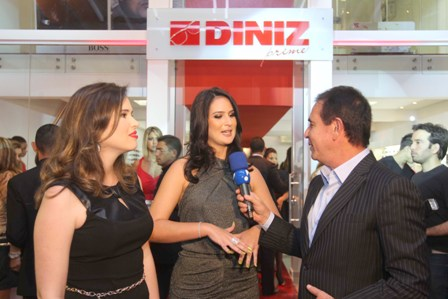 F shion Tour Brasil  Diniz Prime - Grande festa marca inauguração de ... 875075a4cc