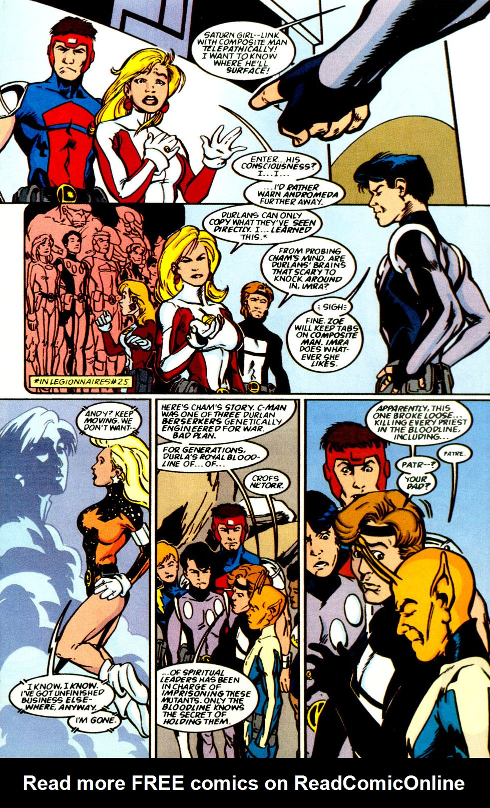 Legion of Super-Heroes (1989) 69 Page 10