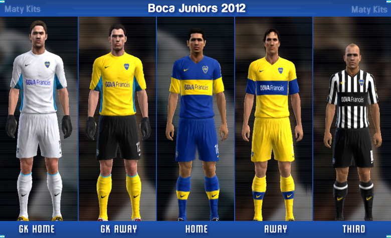 BAIXE GAMES: BOCA JUNIORS 2012
