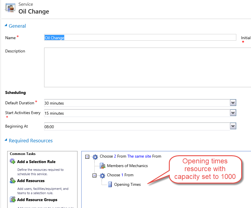 How to create a shared service work schedule in Dynamics CRM Joe Gill Dynamics 365 Consultant