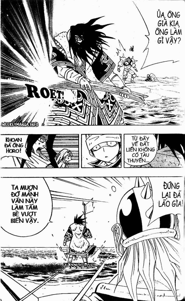 Shaman King [Vua pháp thuật] chap 183 trang 16