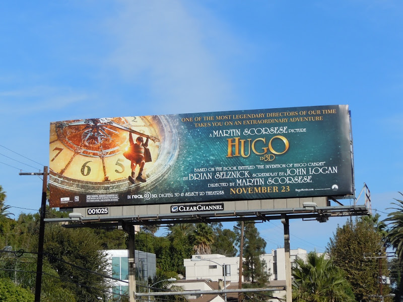 Hugo billboard