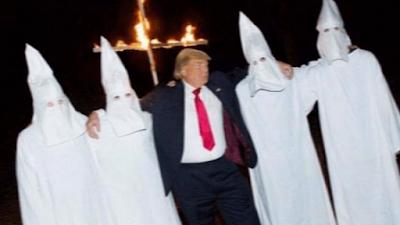 Trump e Ku Klux Klan