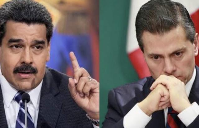 Maduro ignora agresiones de Peña; manda rescatistas y ayuda humanitaria para el pueblo de México
