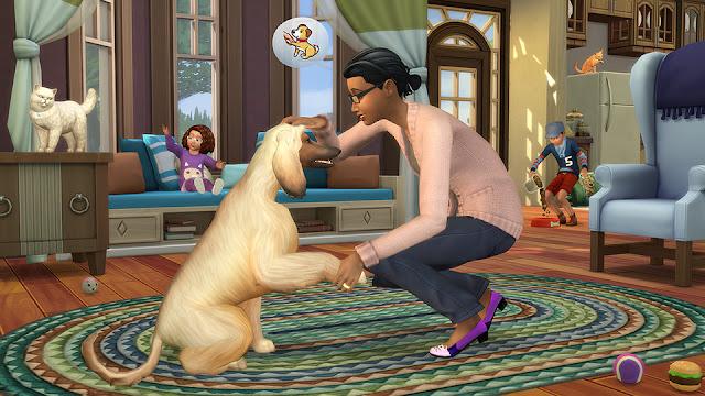 """Imagen del juego Los Sims 4 """"Perros y Gatos"""""""