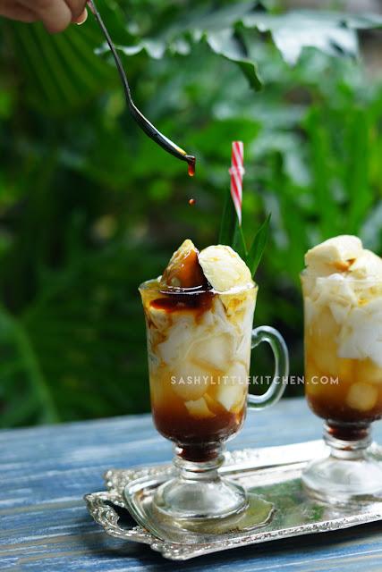 resep Es Kelapa Muda Durian Gula Merah