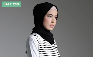 model hijab buat hari raya