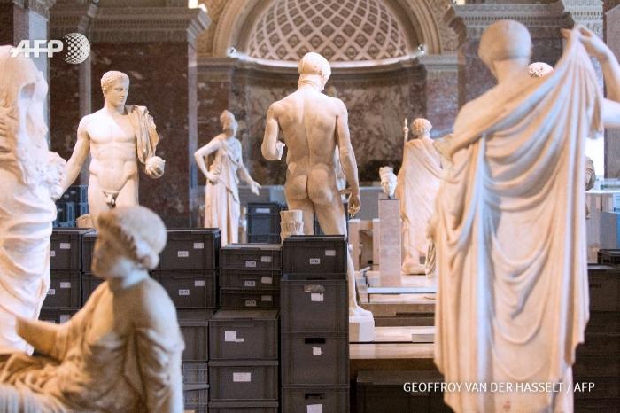 Obras de arte a serem removidas por causa das cheias