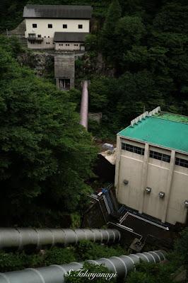 日本の風景 新潟県 猿田発電所