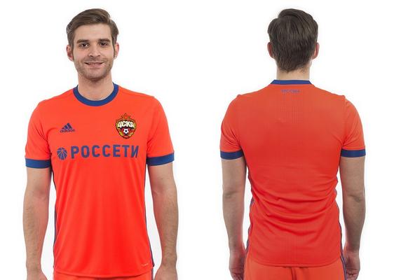 e662969c827889 La nuova maglia CSKA Mosca seconda 2017-18 è stata rilasciata. Si unisce al  inusuale kit Home che era già stato rilasciato in maggio per la nuova  stagione.