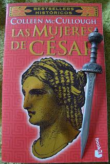 Portada del libro Las mujeres de César, de Colleen McCullough