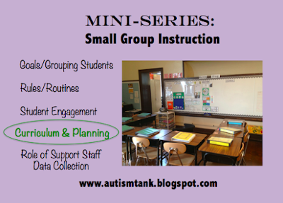 Mini Series: Small Group Instruction Curriculum and Planning