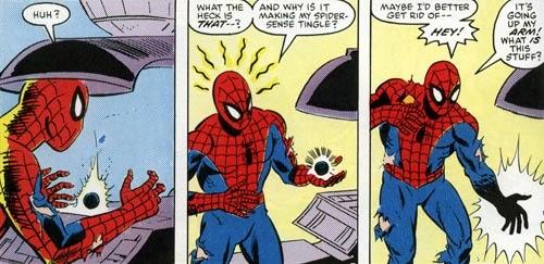 Venom Spiderman origen