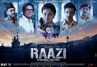 Raazi First Look Poster 5