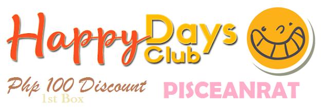 happy days box discount