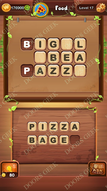 Word Bright Level 17 Answers, Cheats, Solutions, Walkthrough for android, iphone, ipad and ipod