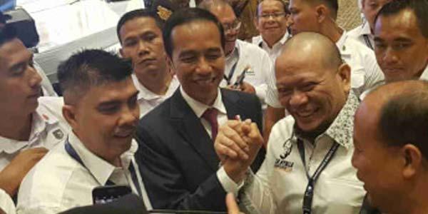 Akui Dalang Obor Rakyat, Jokowi Maafkan La Nyalla