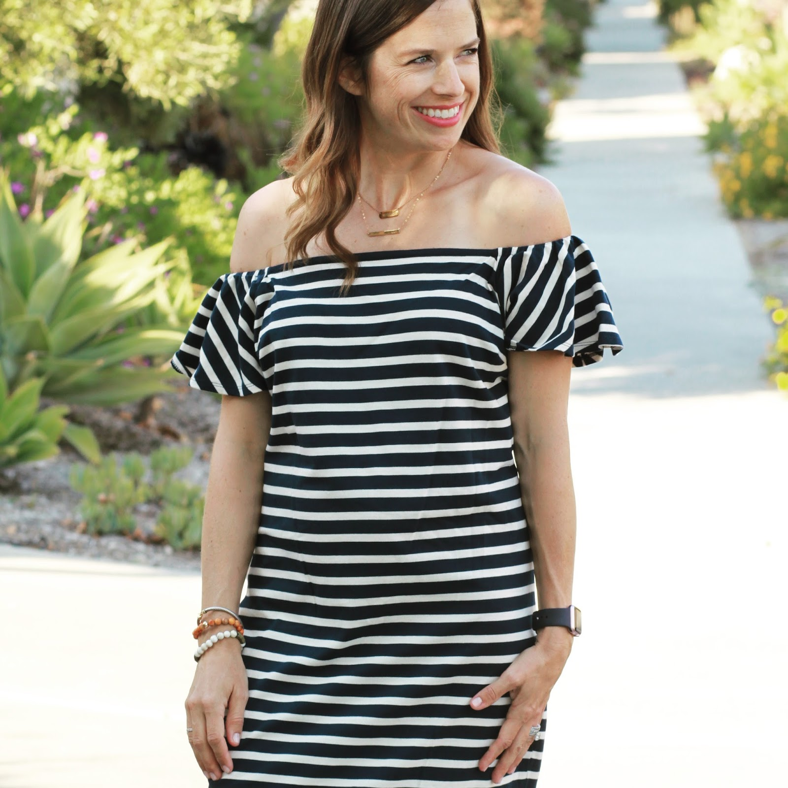 Lauren Ralph Lauren striped dress
