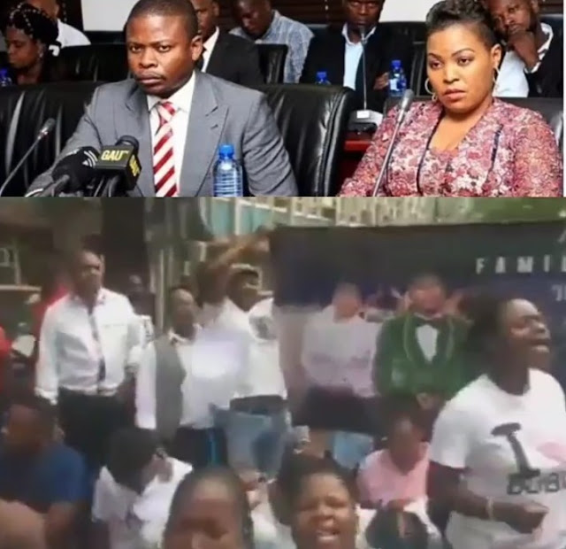 Supporters Surprises Prophet Shepherd Bushiri Over His Wife Alleged Fraud And Money Laundering