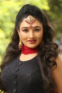 Ramya Sri New Stills at O Malli Movie Press Meet