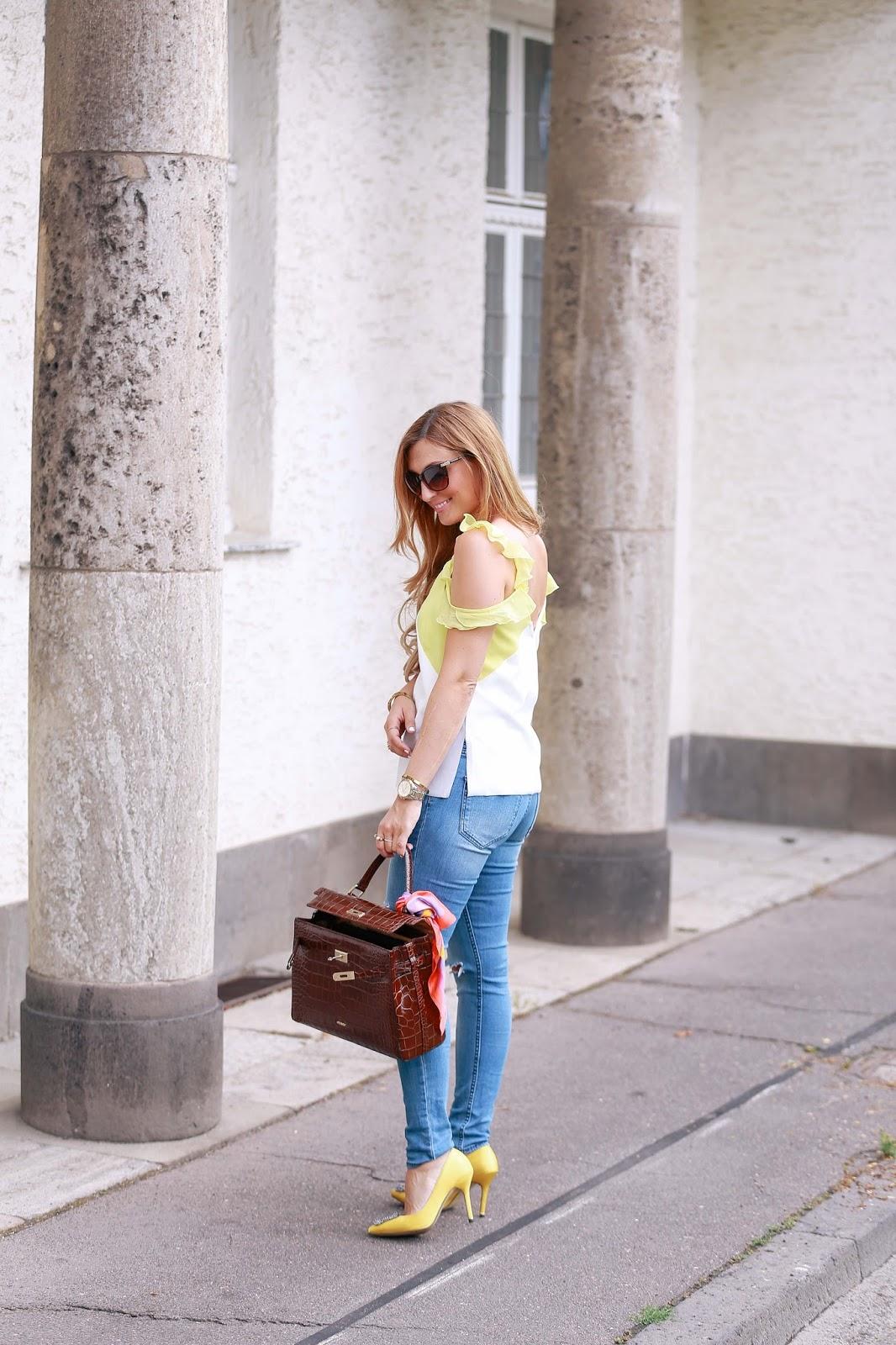 zitronen-gelbe-schuhe-manolo blahnik-fashionstylebyjohanna-fashionblogger-aus-frankfurt-icard-miranda-Tasche-mit-tuch-blogger-deutsche-fashionblogger-fashionblogger-aus-deutschland