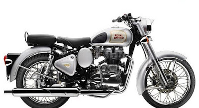 Royal Enfield Classic 350 side view silver