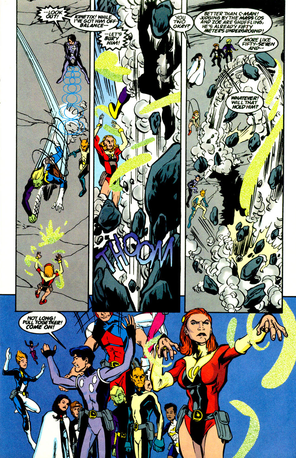 Legion of Super-Heroes (1989) 69 Page 9