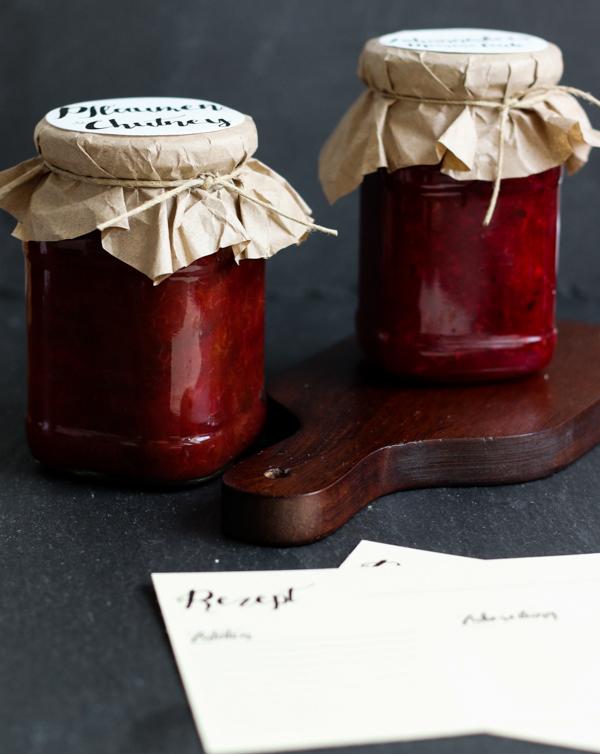 Pflaumen Chutney, Johannisbeermarmelade, Marmelade, Johannisbeeren, Post aus meiner Küche, Fleurcoquet, Sommer im Glas