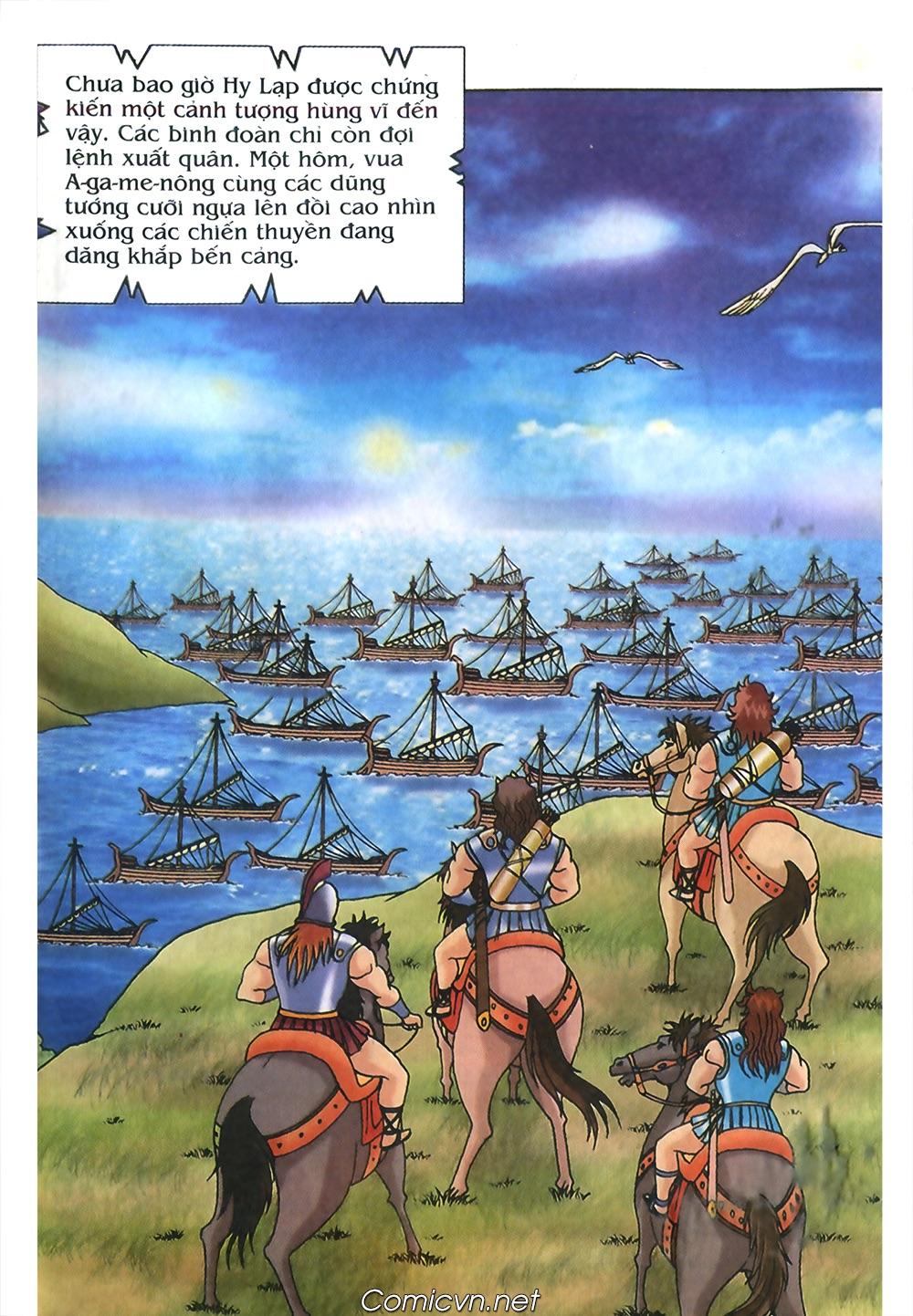 Thần Thoại Hy Lạp Màu - Chapter 53: Trước giờ xung trận - Pic 8