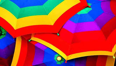 Payung beraneka warna