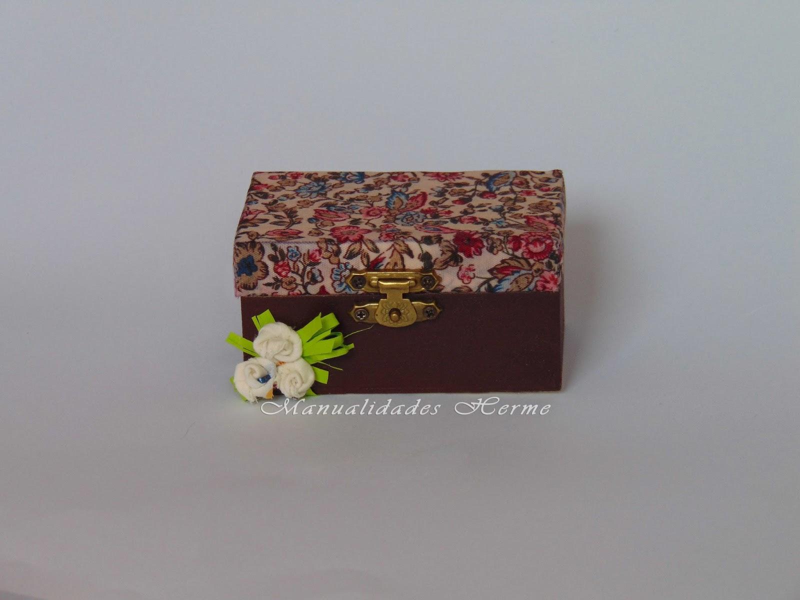 Manualidades herme diy decoupage en caja de madera - Manualidades caja de madera ...