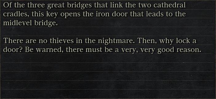 Iron Door Key Bloodborne Wiki