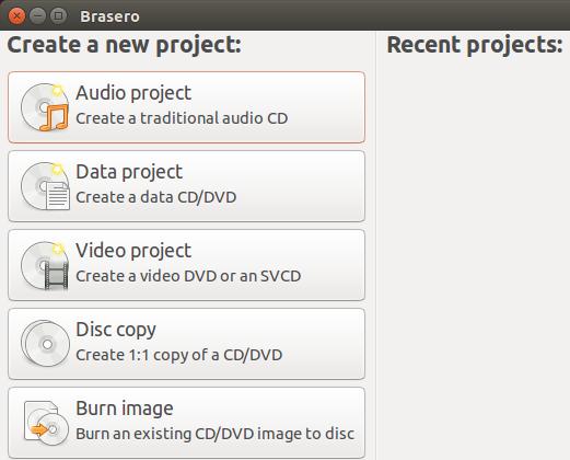 How to Burn A DataDISC Using Ubuntu -Linux PC
