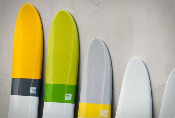 Meyerhoffer Unique Surfboard Design