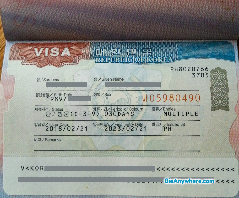 List of Authorized Travel Agencies for Korean Visa in the