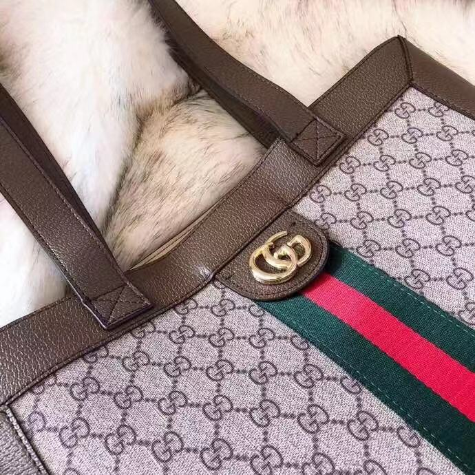 72ee0a5c7d9b GUCCI Luxury Handbag Ophidia Soft GG Supreme Large Tote Shopping Bag 519335.  Order Code: EOII243081018