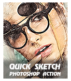\  - Quick 2BSketch - Concept Mix Photoshop Action