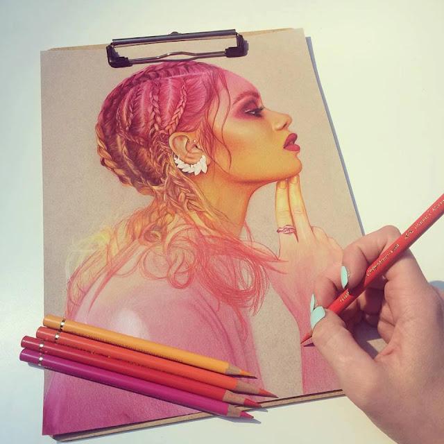 Retrato y Arte conceptual por Jennifer de boer