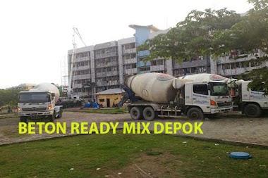 Harga Ready Mix Depok Beton Cor Murah Per m3 2019