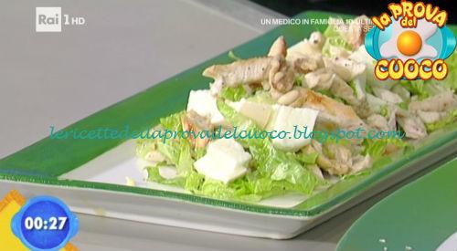 Insalata di pollo alla provola ricetta Marsetti da Prova del Cuoco