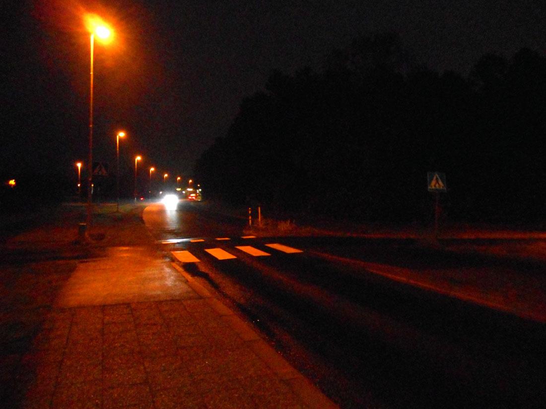 Verso Ronneby alla fermata dell'autobus