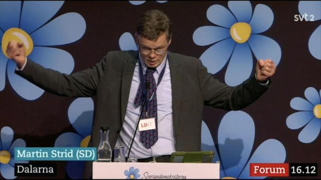 Político sueco no considera a los musulmanes totalmente humanos