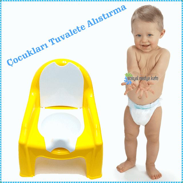 Çocukları Tuvalete Alıştırma -Tuvalet Eğitimi