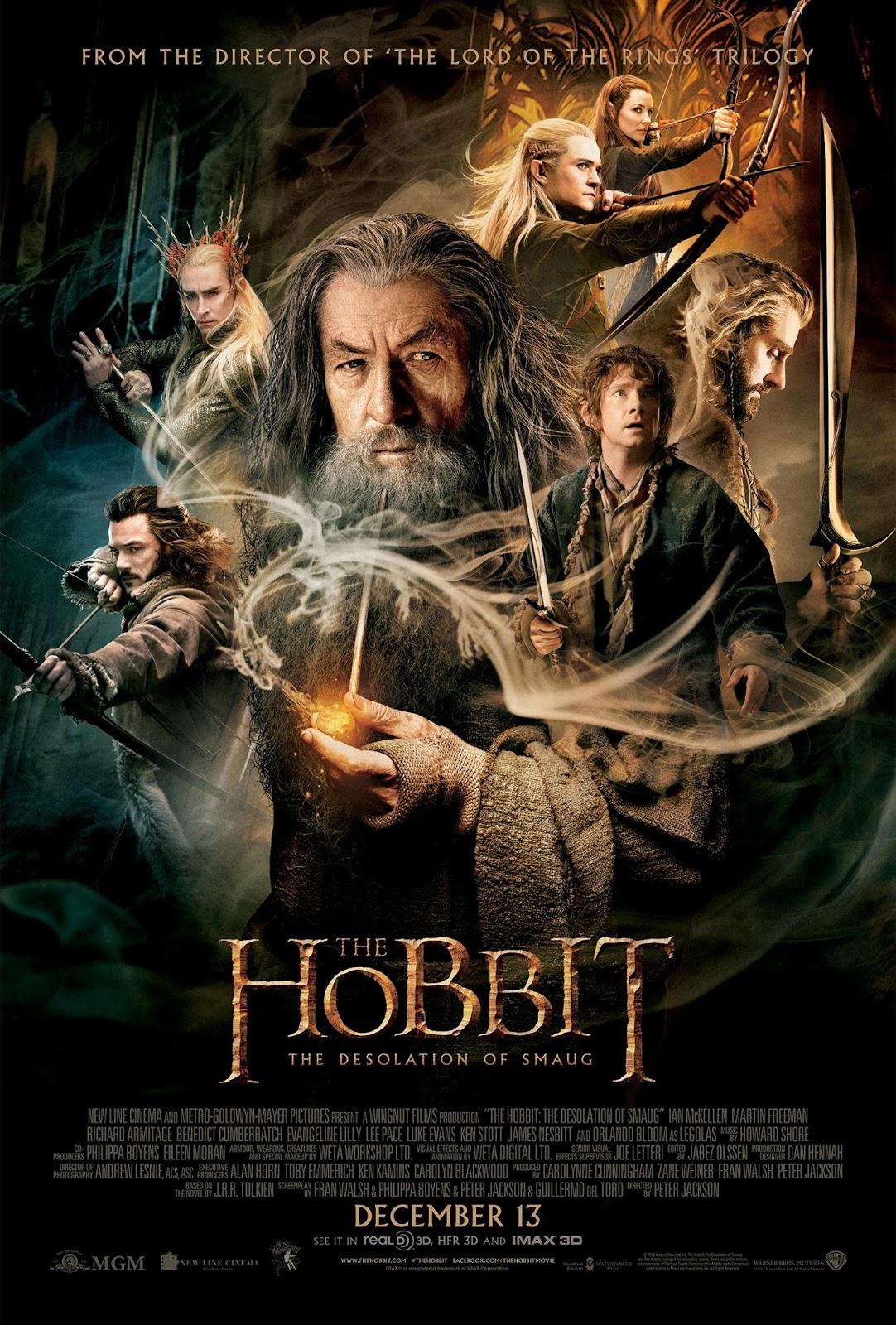 hobbit pustkowie smauga film recenzja bilbo gandalf thorin