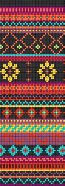Patrón Mochila Wayúu