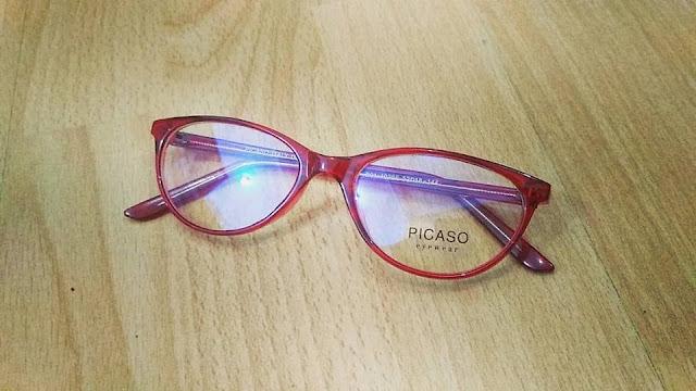 Kacamata frame cateye semarang