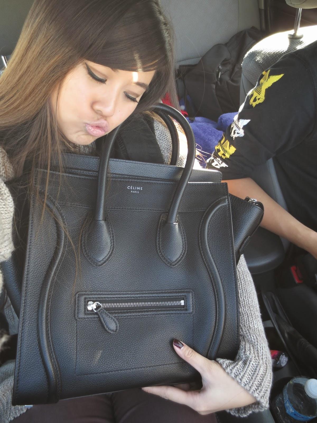 d01a7f91b2a5 Michelle   Sparkles  Celine Mini Luggage Review