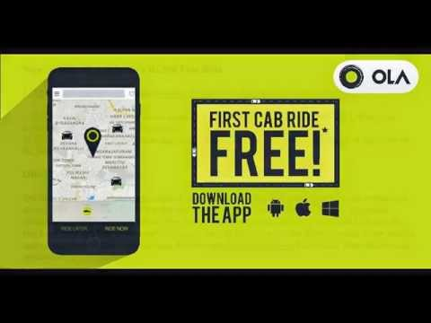ola coupons bangalore first ride