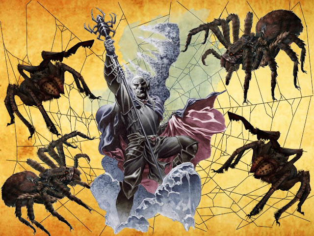 Nezznar, The Black Spider Attacks